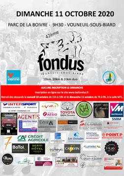 10 et 20 km de Vouneuil sous Biard - 11/10/2020