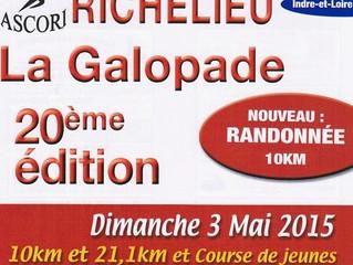 10km et semi-marathon de Richelieu - 03/05/2015