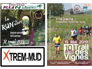 Run'nature à Cherveux (79) - Trail des Vignes à Jaunay-Marigny et Xtrem-Mud à Saint-Cyr -  - 12