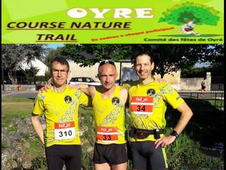 Foulées du Rond du Chêne à Oyré - 12/05/2019