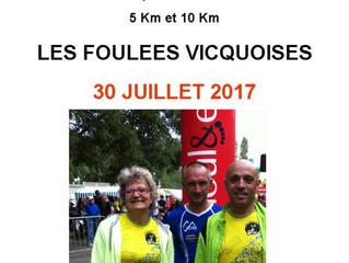 Foulées vicquoises - 30/07/17