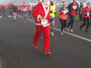 Course des Pères Noël - Saint Benoît 17/12/2016