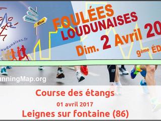 Foulées Loudunaises et Course des étangs - 1 et 2 avril 2017