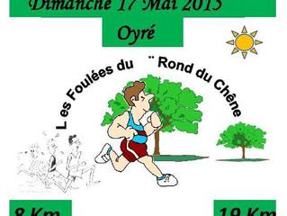 Les Foulées du Rond du Chêne à Oyré - 17/05/2015