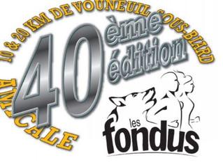10 et 20 km de Vouneuil sous Biard et Trail de l'enfer - 14/10/18