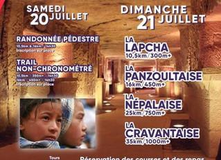 Trail des Caves de Panzoult - 21/07/19