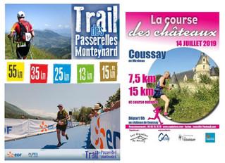 Trail des passerelles - Course des Châteaux - 14 juillet 2019