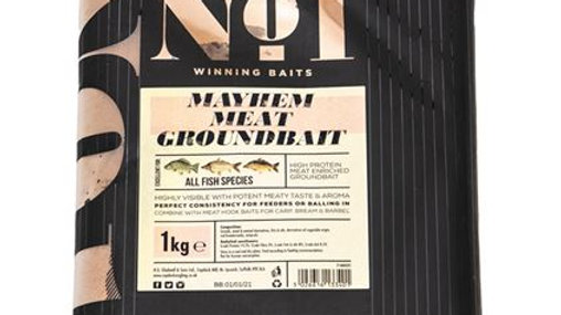 Peg No. 1 Mayhem Meat Groundbait Carp 1kg
