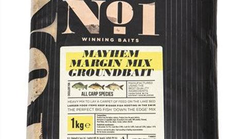 Peg No. 1 Mayhem Margin Mix Groundbait Carp 1Kg