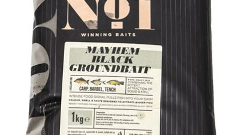 Peg No. 1 Mayhem Black Groundbait Carp 1kg