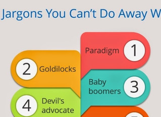 10 Jargons You Cannot Do Away With!