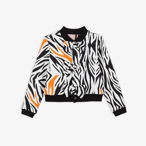 Zebra Bow Jacket