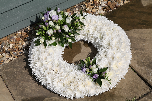 Funeral open wreath