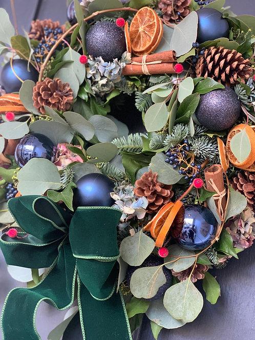 Christmas wreath workshops - Billy's Barn