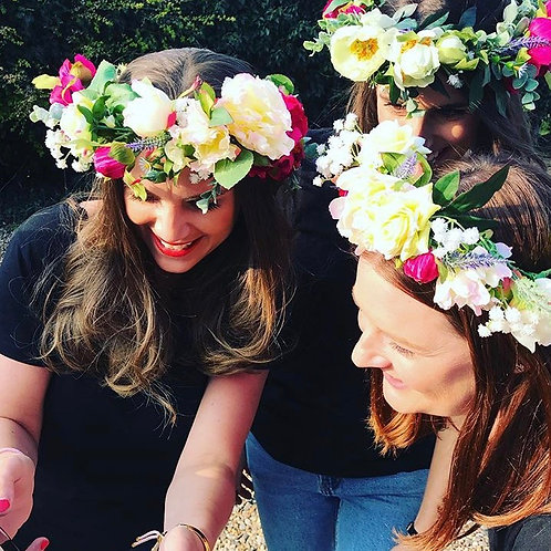 Fresh Flower - Flower Crown Parties