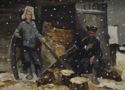 Зимний вечер / Михаил Скрипнюк