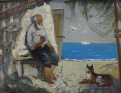 Старик и море / Михаил Скрипнюк