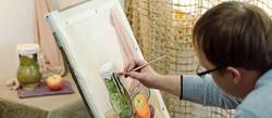 Уроки живописи в студии Арт Рязань