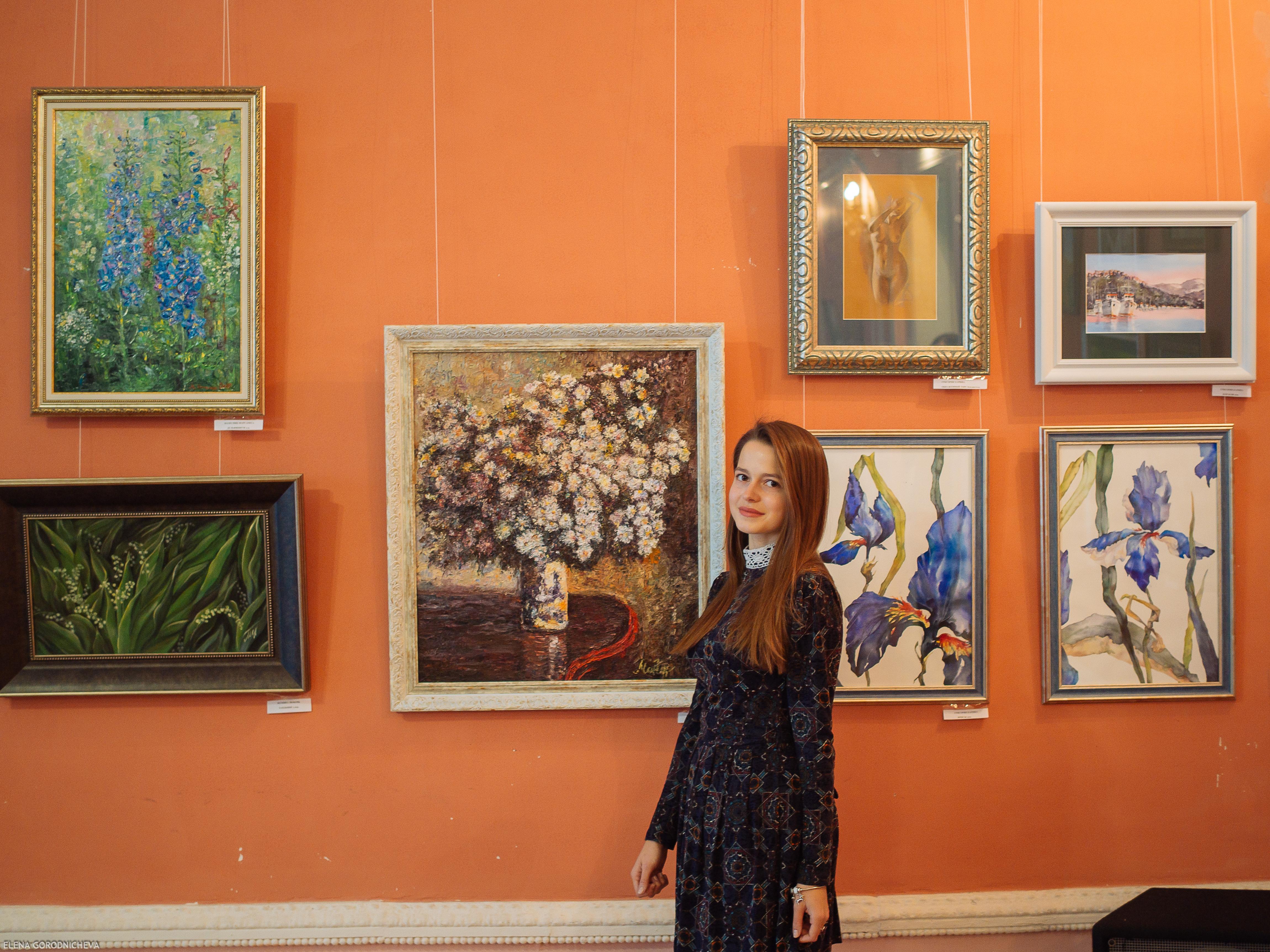 Первая отчетная выставка Арт Рязань