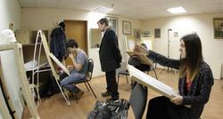 Занятия в студии Арт Рязань