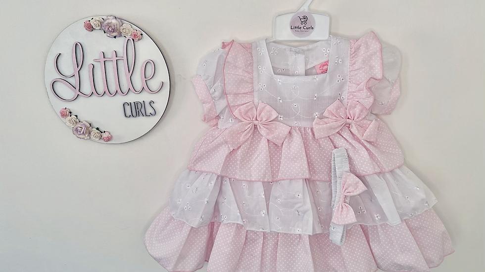 Pink Bella dress & pants