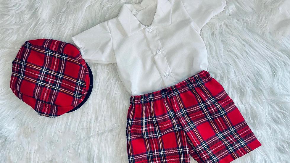 Freddie Tartan shirt and shorts
