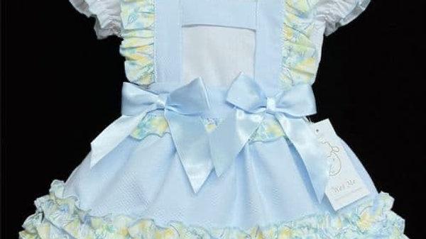 Blue & Lemon Frilly Wee Me