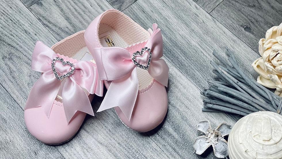 Heart diamanté soft sole baypods
