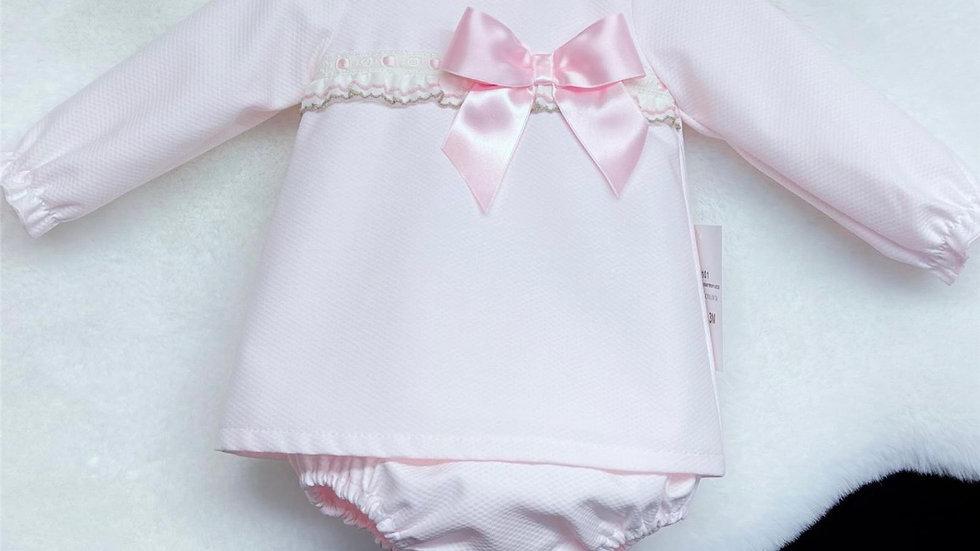Pink Layla May dress & pants