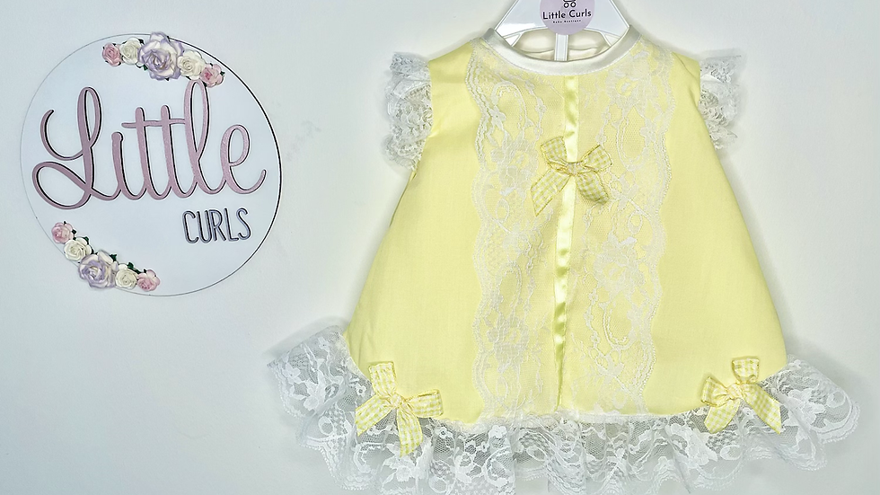 Lemon Angel dress