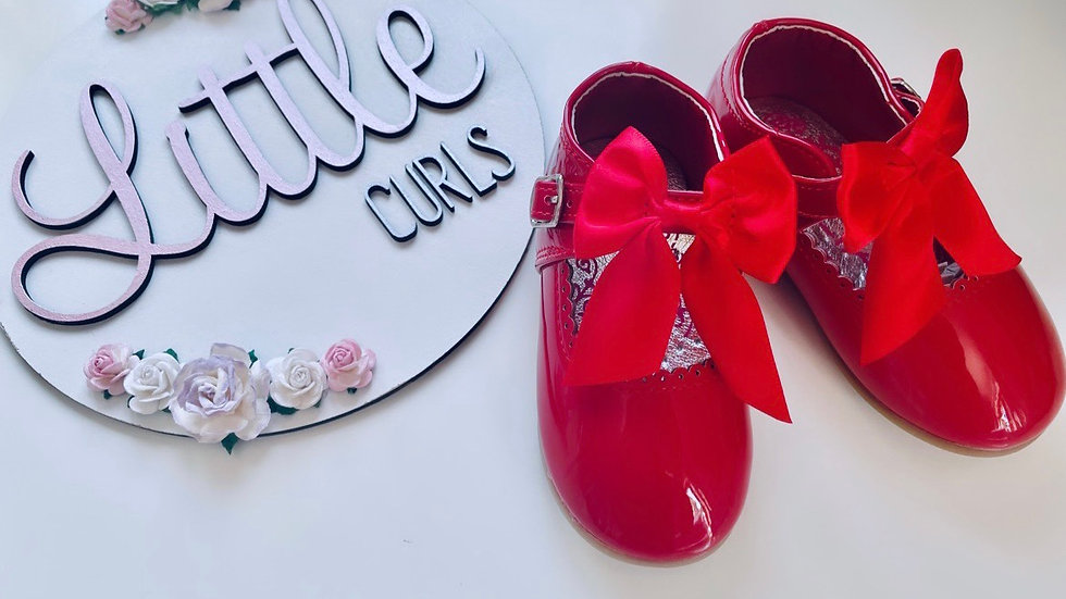 Red Melia Shoes