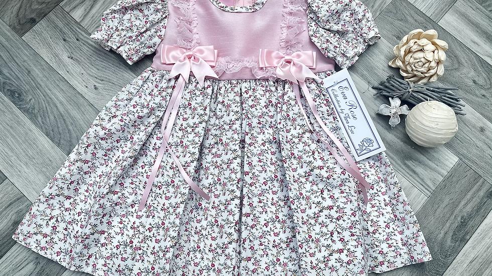 Eva rose floral dress
