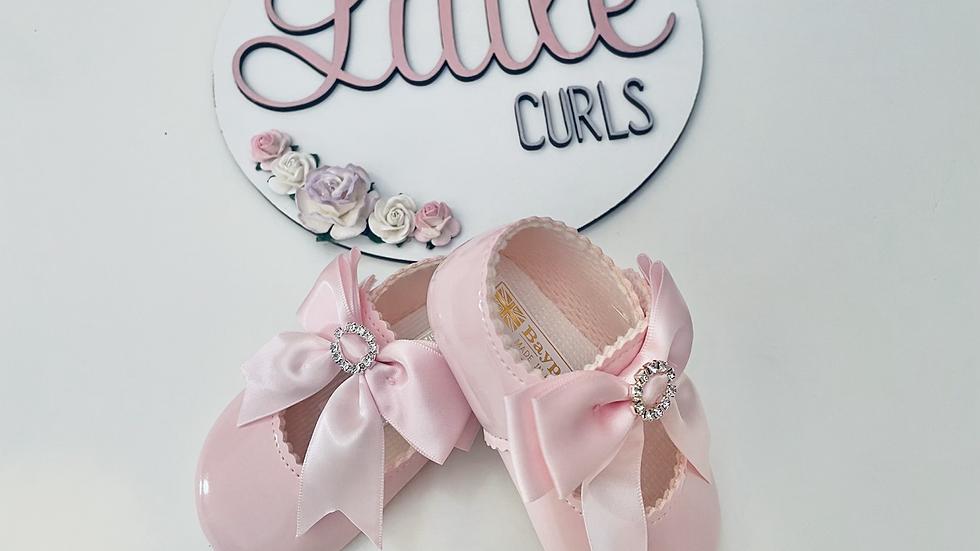 Pink diamanté baypods