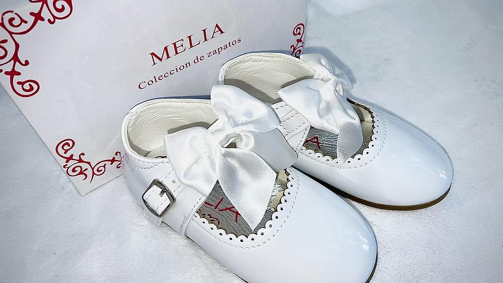 Melia bow shoes - hard sole