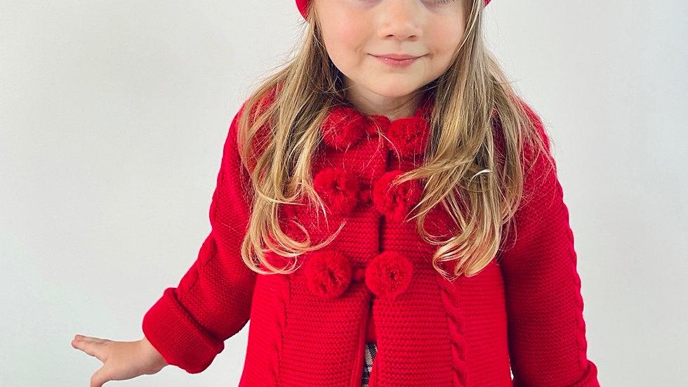 Red Jacket & Hat Set