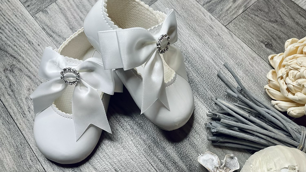 Baypods soft sole shoe - white