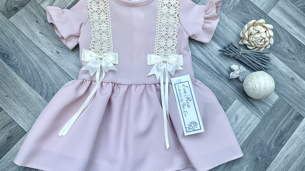 Eva Rose drop waist dress