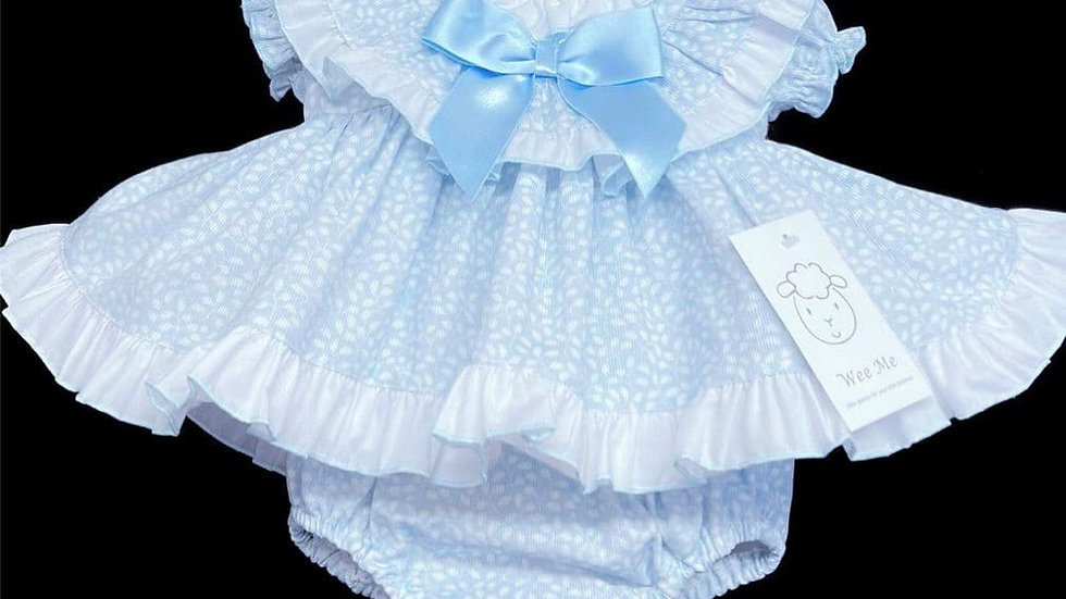Blue Bow Wee Me