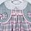 Thumbnail: Pink Tartan dress, cardigan and hat