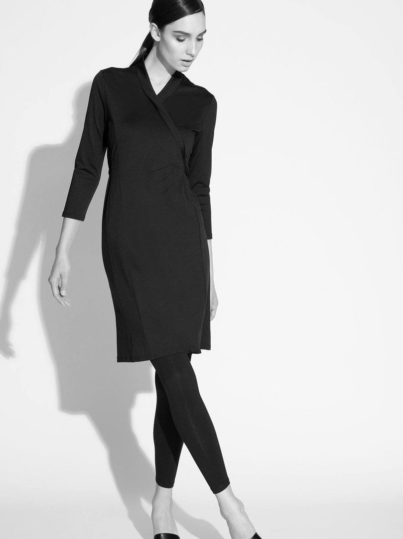NA608R-Amari-Faux-Wrap-Dress-Black-Campa