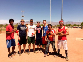 April 2015 - Placing 3rd in E-Week Softball