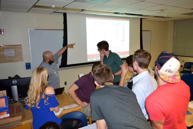 2018 Modeled Problem Solving Workshop hosted by Nader Shakerin from Intel