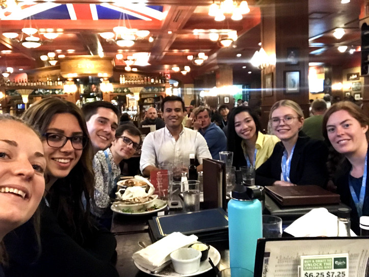 November 2019 - Post-Conference Dinner with Dr. Savagatrup in Orlando, FL