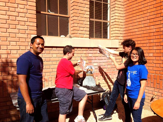 February 2014 - Participating in Solar Oven Event for E-Week