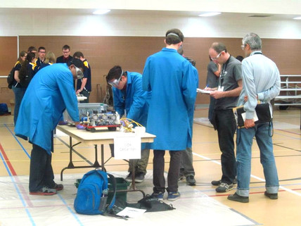 April 2013 - Competing in the Regional ChemE Car Competition at New Mexico State University
