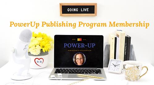 copy of PowerUp Publishing Program (PUPP) Annual Membership