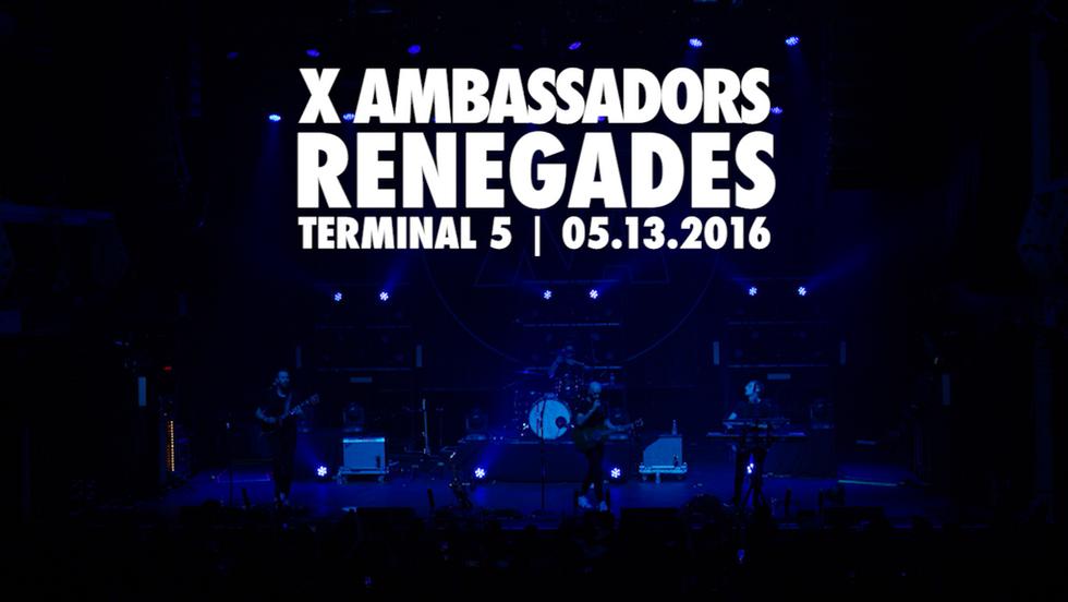 """X Ambassadors   """"Renegades Live"""""""