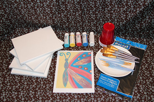Art Party Express Kit 3: Butterfly example