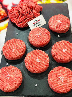 BURGER 100% BLACK ANGUS USA 200GR