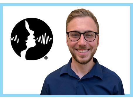 Breakthrough Behavior Assistant Director of SLP Ryan Hoesten Receives ASHA ACE Award